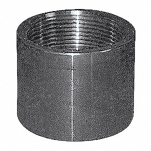 COUPLING, 1 1/4 IN,THREADED,316 SS