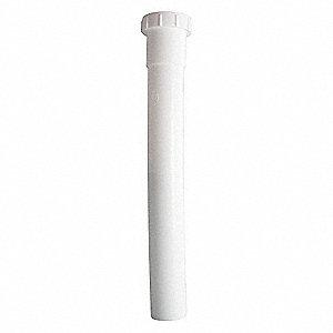 EXTENSION,PLASTIC,PIPE DIA 1 1/4 IN