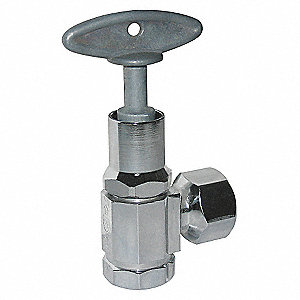SUPPLY STOP,LOOSE KEY,INLET 1/2 IN
