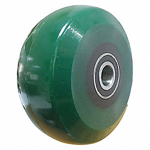 CASTER WHEEL,4 D X 2 IN. W,1000 LB.