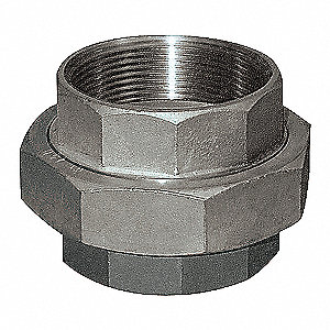 UNION,3/4 IN,THREADED,316 SS