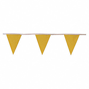 WARNING FLAG LINE,100 FT. L,11IN. H
