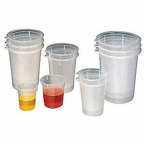 DISPOSABLE BEAKERS, 600ML,PK25