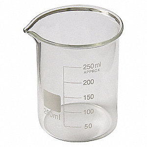 BEAKER,TALL FORM,GLASS,50ML,PK 12