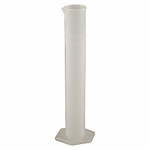 GRADUATED CYLINDER,1000ML,PLASTIC,P