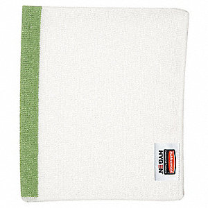 "Green Sanitizing Towel, 16 x 19"", 24 PK"