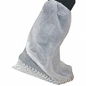COVERS BOOT SLIP RESIST WHITE PK200