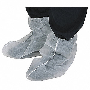 COVERS BOOT 1-SIZE WHITE PK 200