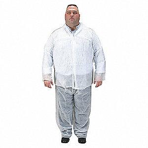 PANTS DISPOSABLE WHITE PK 25 L/XL