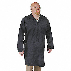 COAT SHOP COLLARED MALE NAVY 2XL