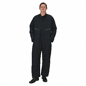 COVERALL INSULATED NAVY M