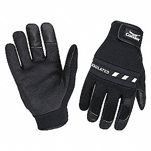 GLOVES ANTI-VIBRATION M BLACK PR