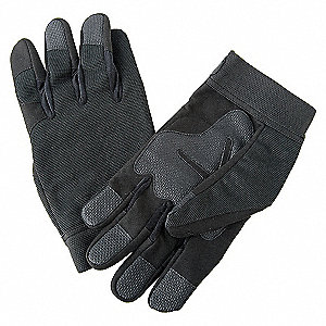 GLOVES ANTI-VIBRATION 2XL BLACK PR