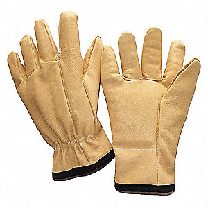 GLOVES ANTI-VIBRATION L GOLD PR