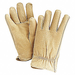 LEATHER DRIVERS GLOVES,PIGSKIN,2XL,