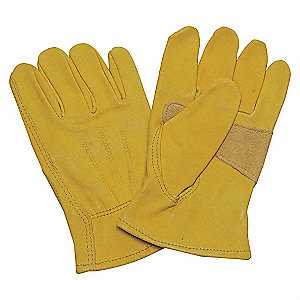 LEATHER DRIVERS GLOVES,COWHIDE,2XL,