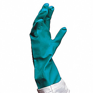 CHEMICAL RESISTANT GLOVE,15 MIL,SZ