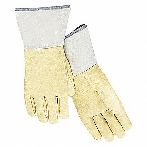 WELDING GLOVES,TIG WELDING,12IN.,L,