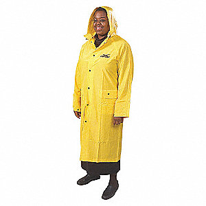 RAINCOAT WITH DETACHABLE HOOD,4XL