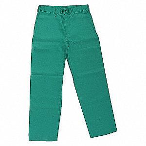 PANTS FLAME RETARDANT GREEN 2XL