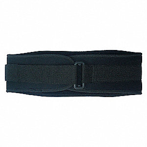 BACK SUPPORT 6 IN WDE NYLON BLK S