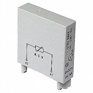 RELAY,SOCKET MODULE,2PIN,120VAC/VDC
