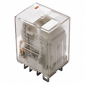 RELAY,ICE CUBE,DPDT,240VAC,COIL VOL