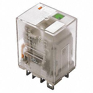RELAY,ICE CUBE,DPDT,120VAC,COIL VOL