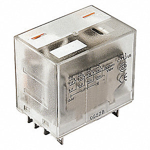 RELAY,ICE CUBE,4PDT,120VAC,COIL VOL