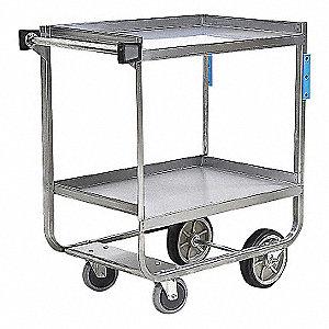 Utility Cart,SS,38-5/8 Lx22-3/8 W,700 lb