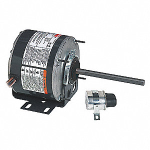 CONDENSER FAN MOTOR,1/2 HP,1075 RPM