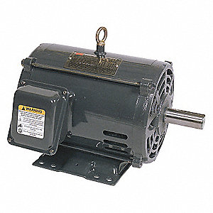 MTR,3 PH,5 HP,1165,208-230/460V,EFF