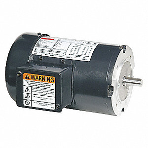 MTR,3 PH,1/3HP,1725,208-230/460,EFF