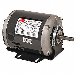 GP MTR,SPLIT PH,ODP,1/3 HP,3450 RPM