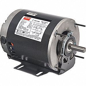 GP MTR,SPLIT PH,ODP,1/6 HP,850 RPM,