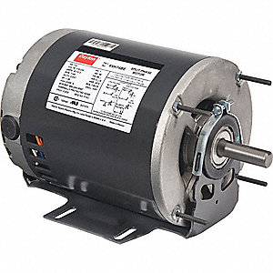 GP MTR,SPLIT PH,ODP,1/3 HP,1140 RPM