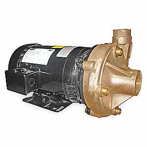 CENTRIFUGAL PUMP,2 HP,3 PH,208-230/