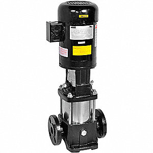 BOOSTER PUMP, 1 1/2 HP,3 PH, 8 STAG