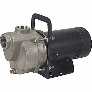 TRANSFER PUMP, 3/4 HP, SS