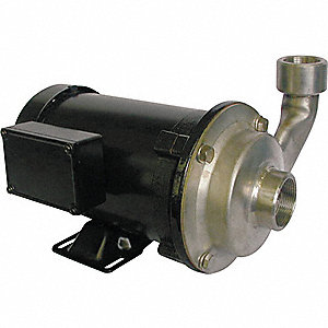PUMP, CENTRIFUGAL, SS, 1 HP, 3 PH