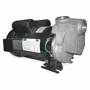 CENTRIFUGAL PUMP, 2 HP, 1 PH, 115/