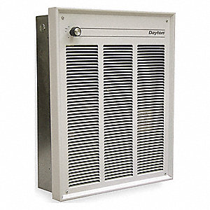 ELECTRIC HEATER,120V,1500 WATTS,WHI