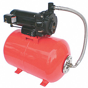 CONVERTIBLE JET PUMP SYSTEM,1HP,115