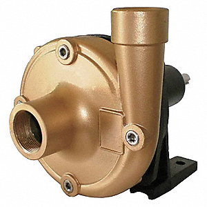 CENTRIFUGAL PUMP HEAD,5 HP,BRONZE