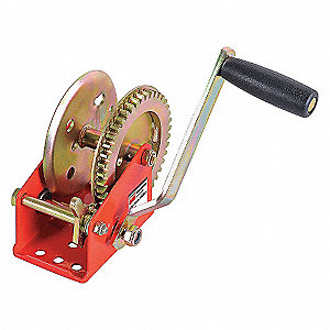 RATCHETING WINCH,SPUR,NO BRAKE,1400
