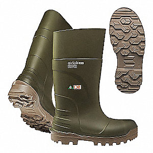 PU FULL SAFETY BOOT 15