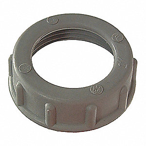BUSHING,CONDUIT,PLASTIC,1 IN