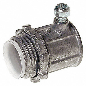 CONNECTOR,SETSCREW,INSULATED,3/4 IN