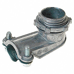 CONNECTOR,SQUEEZE,90 DEG,3/8 IN