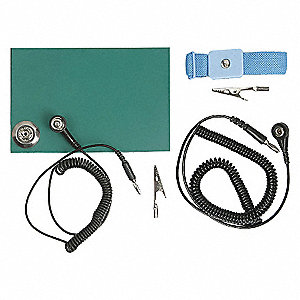 STATIC CONTROL KIT, 18 X 22 IN MAT